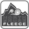 mountain wind logo, black and white, signature fleece fabrics