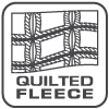 quilted squares logo, square signature fleece fabrics renegade club wholesale